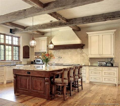 Kitchen Of The Week An Antique White Kitchen With Rustic White Rustic Kitchen Cabinets