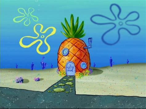spongebobs pineapple house  adventures  gary