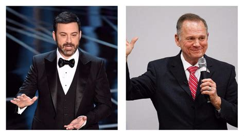 roy moore jimmy kimmel twitter a look at jimmy kimmel and roy moore s twitter feud over