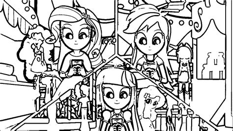 My Little Pony New Equestria Girls Coloring Pages My Pony Equestria Rainbow Rocks Coloring Pages Printable