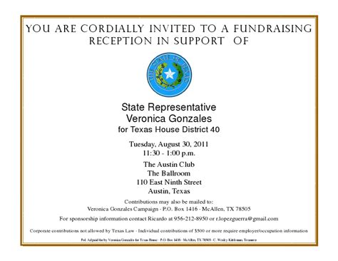 republican party fundraiser invitations party