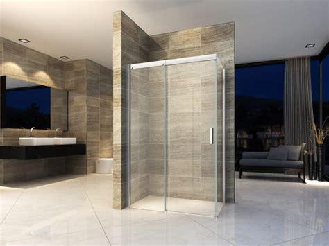 piatto doccia 90x110 box doccia in cristallo con trattamento anticalcare