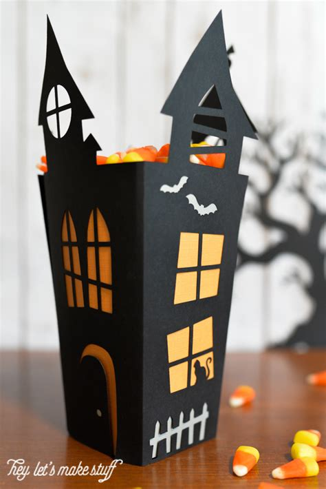 How To Make A Paper Haunted House - 15 easy decoration ideas