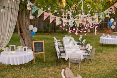 backyard parties how to organize a memorable outdoor birthday party baby
