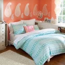 ideas teenage girl bedroom teen:  the rainbow hues is vibrant and fun a beautiful theme for teens