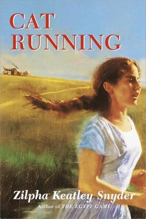 running books cat running by zilpha keatley snyder reviews discussion