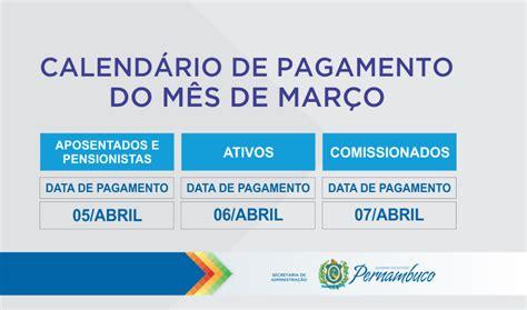 pagamento do estado rn de marco governo do estado divulga calend 193 rio de pagamento do m 202 s