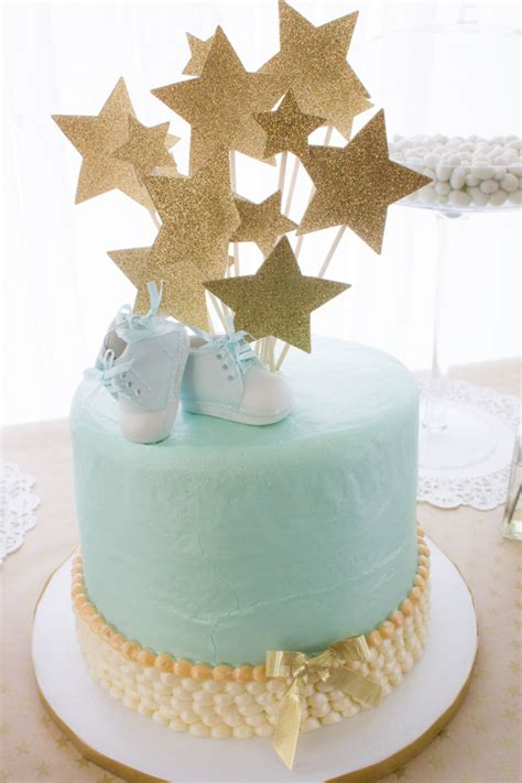 Blue And Gold Baby Shower blue and gold baby shower inspired by this