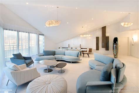 Livingroom Deco d 233 coration d un appartement vue mer martine codaccioni