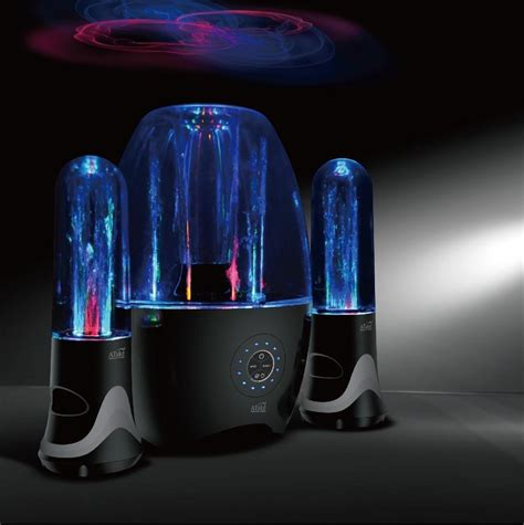 bluetooth water light speakers original atake water fountain theater bluetooth speakers