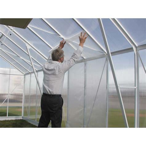 tekfoil clear bubble greenhouse insulation  wide
