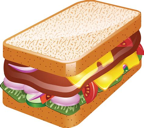 Sandwich Clip by Hamburger Clipart Transparent Food Pencil And In Color