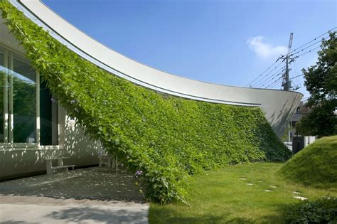 Green Design Ideas Lovely Green Wall Integrated In The Design Of A Japanese
