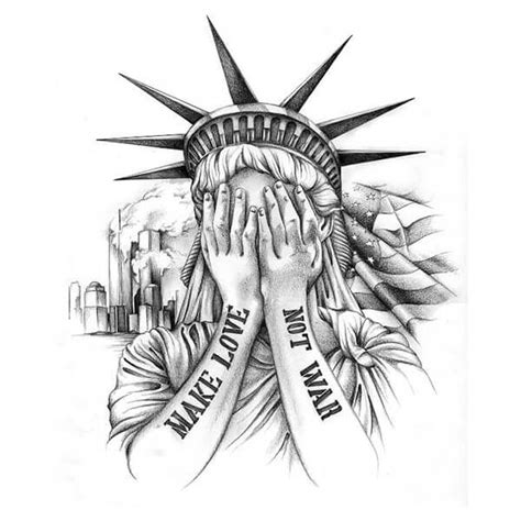statue tattoo designs statue of liberty tattoos ruk 225 v