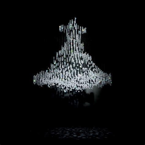 swarovski illuminazione ladari di cristallo living corriere