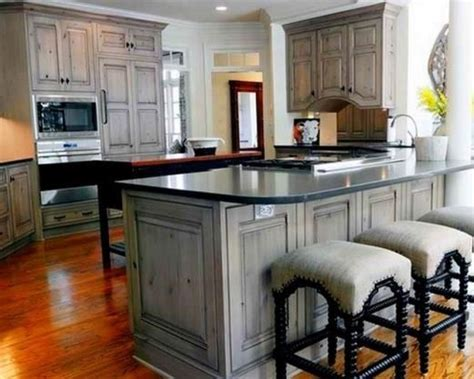 stained wood kitchen cabinets gray light gray stained kitchen cabinets shaker kitchen