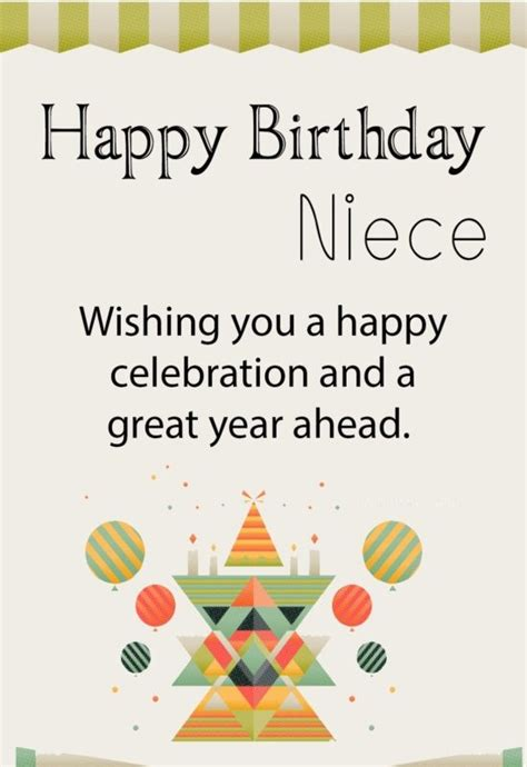 happy birthday niece wishing you a happy celebrate and a