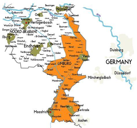 netherlands limburg map image gallery limburg netherlands