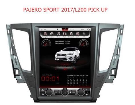 Multimedia Mitsubishi All New Pajero Sport 10 Inch otojeta vertical 12 1 inch android 6 0 car dvd player for