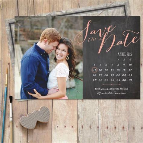 Calendar Save The Date Calendar Save The Date Save The Date Chalkboard