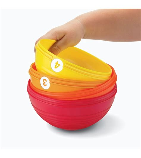 fisher price brilliant basics stack roll cups