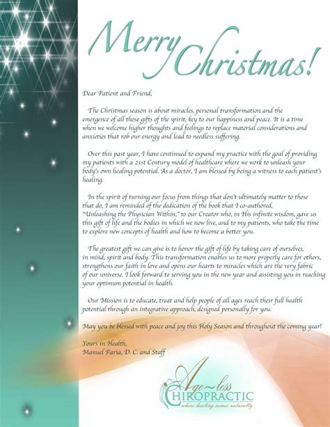 Business Xmas Letters of company christmas letters examples of company christmas letters