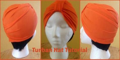 tutorial turban hat turban hat turbans and hat tutorial on pinterest