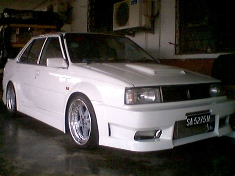 nissan sunny modified i want our own nissan sunny b12 to be modified like this