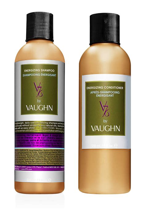 vaughn hair products v76 by vaughn energizing shoo and conditioner