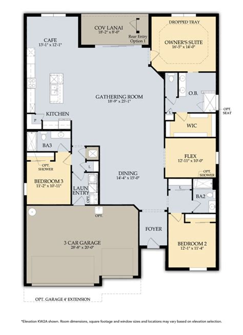 single floor plans home plans single story house plans