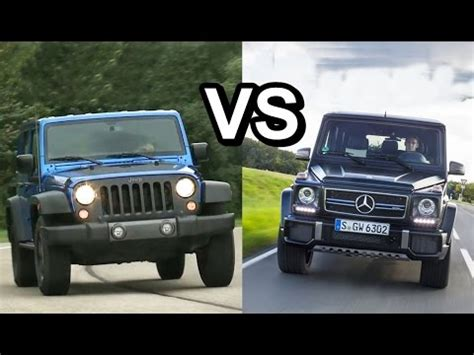 jeep wagon mercedes 2016 mercedes g glass vs 2016 jeep wrangler design