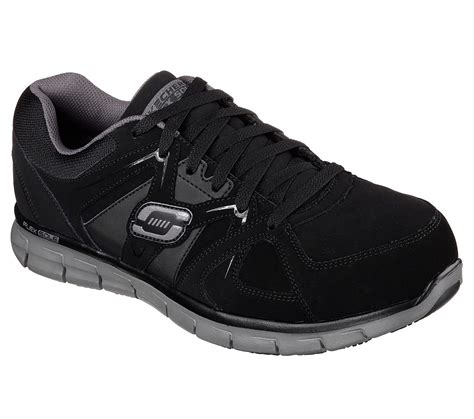 Sepatu Skechers David safety shoes osha standards style guru fashion glitz
