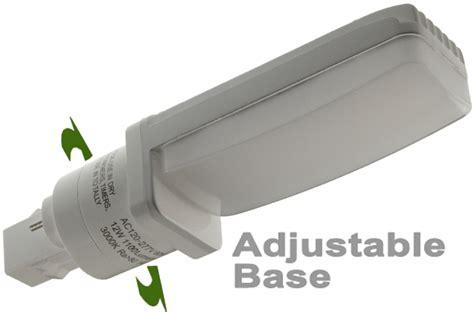 gx23 base led l led cfl replacement l gx23 base rt angled fits 6