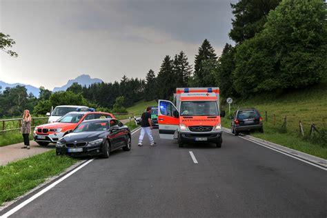 Motorradunfall F Ssen by B16 Ro 223 Haupten T 246 Dlicher Verkehrsunfall Motorrad