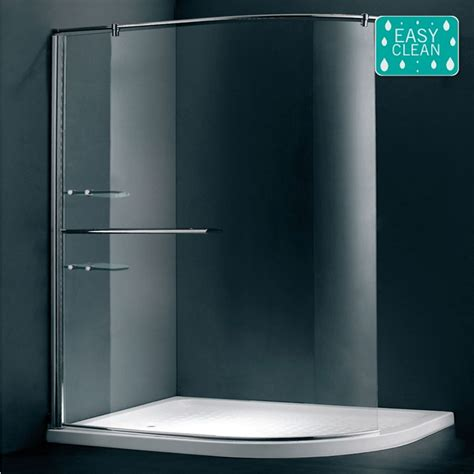 Modern Bathroom Suites Uk - matrix 1200 x 900mm curved walk in shower screen victorian plumbing