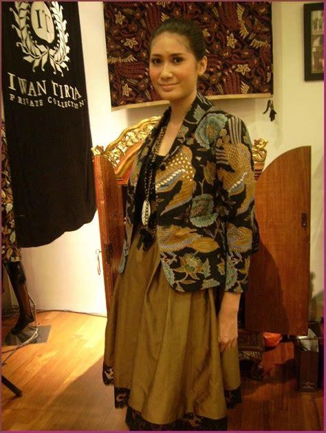 Dress Batik Wanita E 09 model baju batik kombinasi kain polos untuk wanita batik