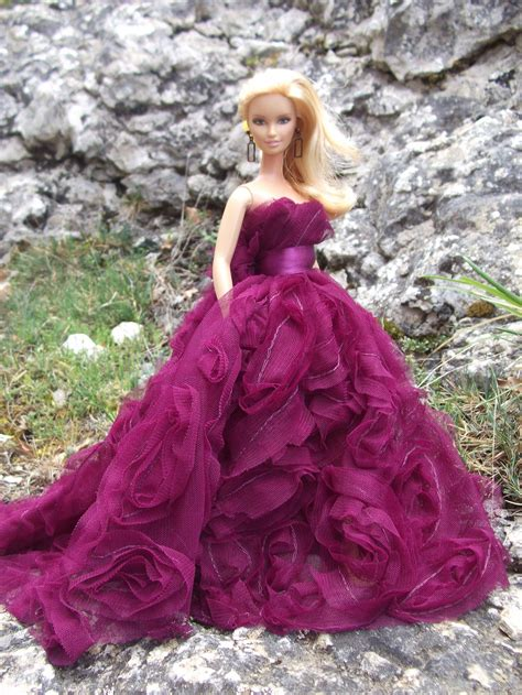 barbie gown design charlize in evening dress by black white swan on deviantart