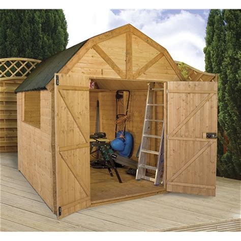 dutch barn plans installed 8 x 8 deluxe tongue and groove dutch barn with