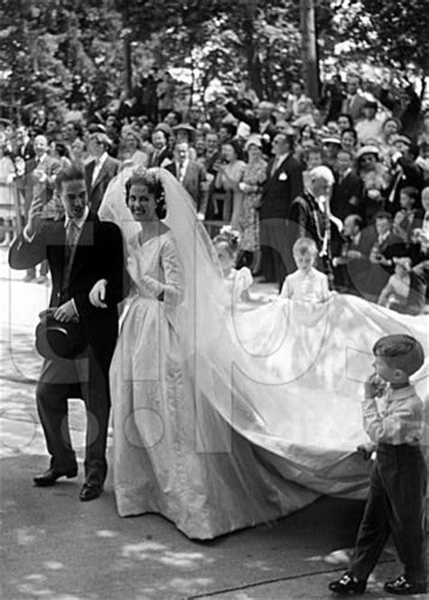 jill zeil 05 07 1957 mariage du prince henri et de marie th 233 r 232 se