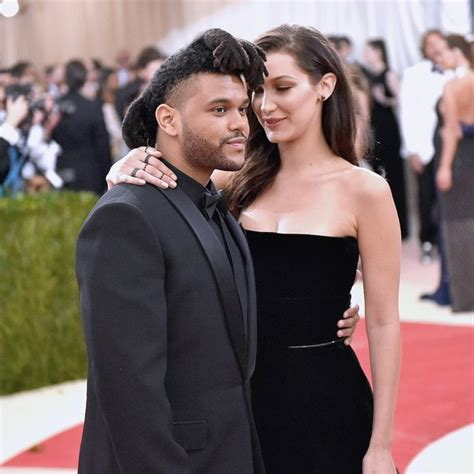 the weeknd opens up about how he met girlfriend bella bella hadid opens up about boyfriend the weeknd i really