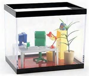 Office fish tank make your fish feel like a boss