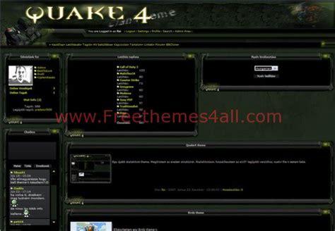drupal themes clan green clan quake e107 theme free download