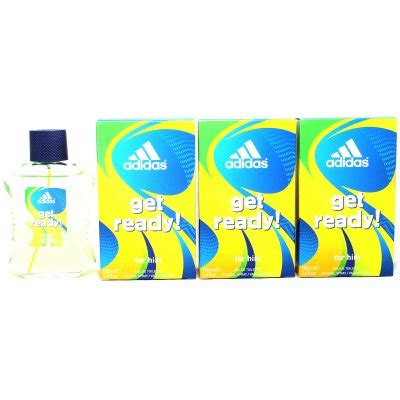 Adidas Get Ready For Him Edt 100ml adidas get ready for him eau de toilette 3 x 100ml edt bei