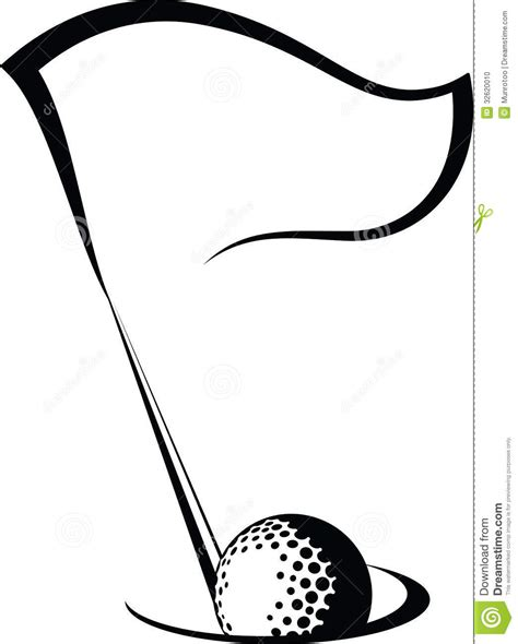 golf clipart black and white golf black and white clipart panda free clipart