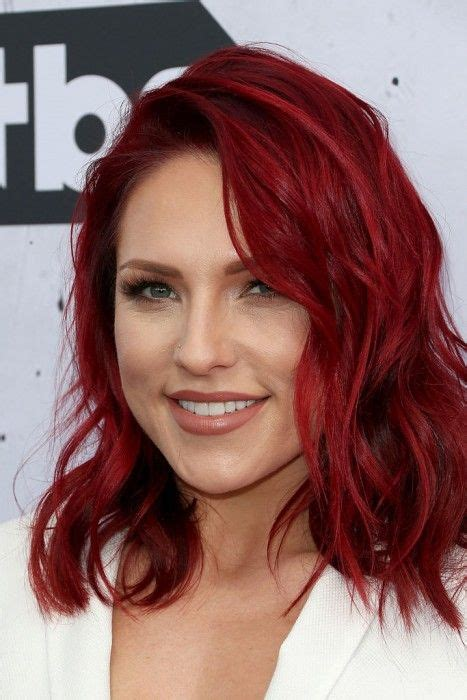 sharna burgess hair color with the sharna burgess with fiery hair