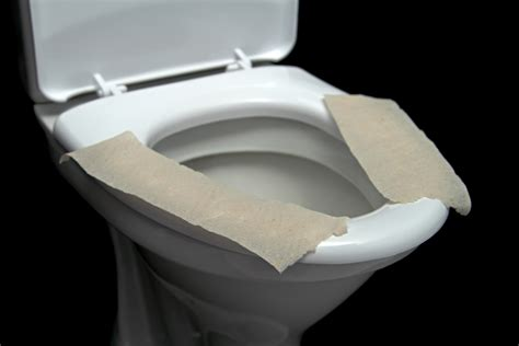 toilet seat do you really need to cover the toilet seat with paper