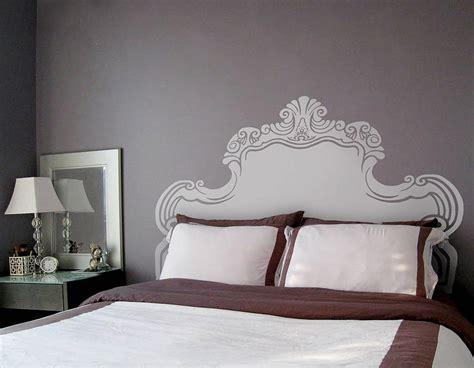 Wall Decal Headboards by Headboard Wall Stickers Vintage Bed Headboard Wall