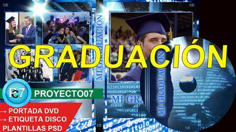 marcos psd graduacion portada dvd blu ray graduaci 211 n psd excelente dise 241 o