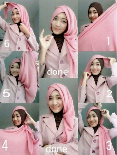 tutorial hijab segi empat ala elzatta hijab hijab