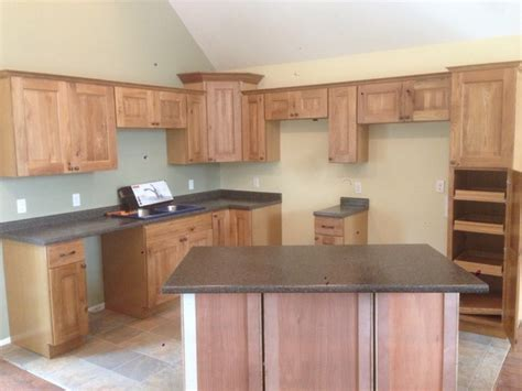 Knotty Oak Kitchen Cabinets Rustic Knotty Oak Rustic Kitchen Cabinets Kitchen Design Ideas
